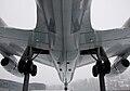 Lower fuselage of Convair 990 Coronado displayed at Swiss Museum of Transport in Lucerne (4872091989).jpg