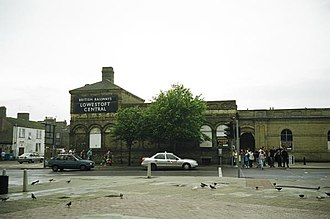 Norfolk and Suffolk Joint Railway - Lowestoft station