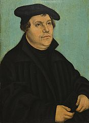 Portrait of Luther