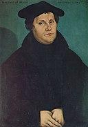 Lucas Cranach I - Martin Luther (1529), St. Anna in Augsburg.jpg