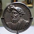 Ludwig neufahrer, medaglia di francesco I di francia, 1537, argento 01.JPG