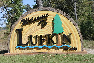 Lufkin, Texas City in Texas, United States