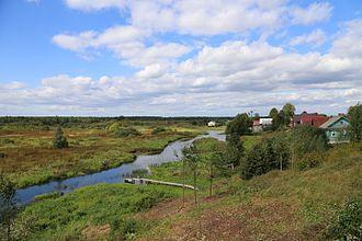 Lukhsky District - Lukh River, Lukhsky District