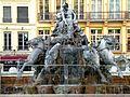 Lyon. Fuente de los ríos, en la Place des Terreaux.jpg