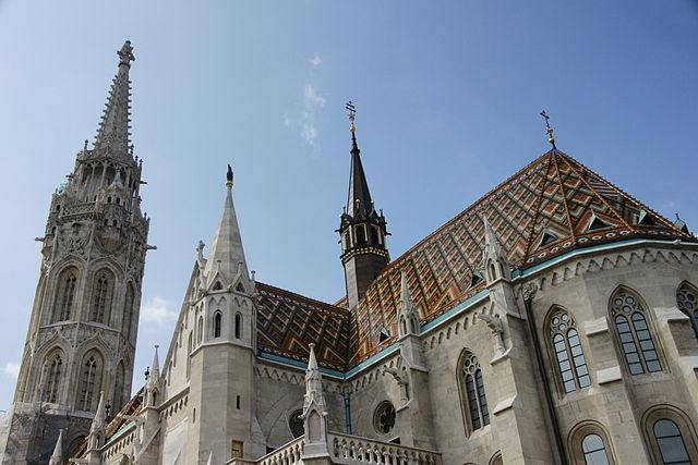 > Eglise Matthias à Budapest.