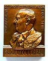 Médaille Raoul FOLLEREAU (1903-1977), Journée mondiale des lépreux. Graveur E.J. BELLONI (1).JPG