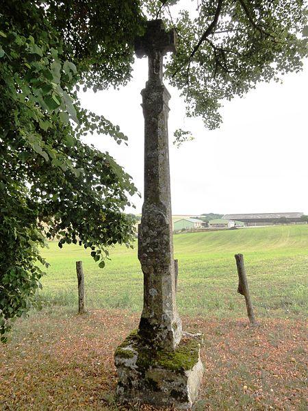 Méligny-le-Petit (Meuse) croix de chemin A