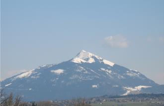 Marignier - Le Môle seen from Marignier