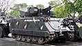 M113 with UT-25 Turret - Oblique View @ 2018 Kalayaan Parade.jpg