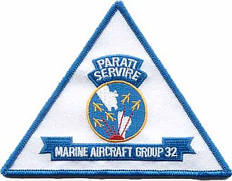 Marine Aircraft Group 32 - MAG-32 insignia
