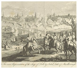Siege of Lille (1708) - Siege of Lille in 1708
