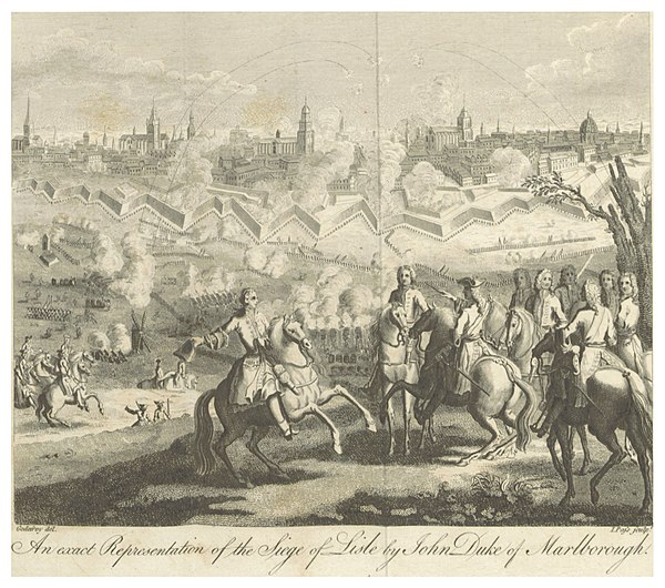 Siege of Lille in 1708