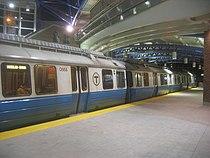 MBTA Blue Line train at Airport Station in 2005.jpg