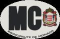 MC international vehicle registration oval.png