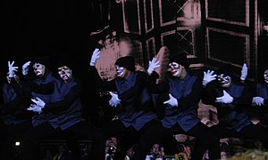 "Justify My Love - Dancers performing during the ""Justify My Love"" video interlude on The MDNA Tour."