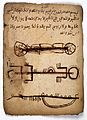 MS Arabic 21, Miscellaneous. Sudanese amulet Wellcome L0031934.jpg