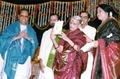 MS Subbalakshmi releasing Sri Balakrishna Prasad's Anjaneya Kritimani maala.tif