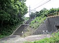MT-Mihama Ryokuen Station-Northern Access route 1.jpg