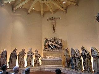 Mise au tombeau de Combefa