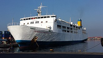 Philippine Span Asia Carrier Corporation (PSACC) - MV Princess of the South, the former flagship of Philippine Span Asia Carrier Corporation