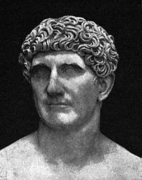 a description of gaius julius caesar born in c100bc Gaius julius caesar known by his nomen and cognomen julius caesar, was a  roman  caesar was born into a patrician family, the gens julia, which claimed  descent from iulus, son of the legendary trojan prince aeneas, supposedly the.