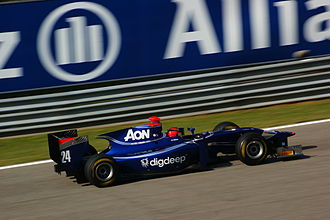 Max Chilton - Chilton driving for Carlin at the Monza round of the 2011 GP2 Series season
