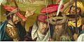 Maître de Delft Crucifixion - National Gallery (détail 2).jpg