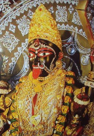 Dakshineswar Kali Temple - Image: Maa Bhavatarini at Dakshineshwar Temple (Photo Frame Type)