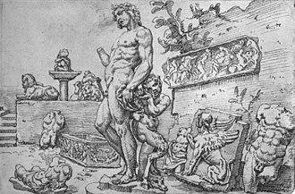 Bacchus (Michelangelo) - Image: Maarten van Heemskerck 011