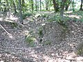 Maasmechelen Steenweg naar As zonder nummer Duits oefenterrein, hoefvormige loopgraaf - 226442 - onroerenderfgoed.jpg
