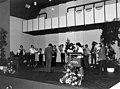 Maastricht, opening muziekschool St Maartenspoort, 1983.jpg