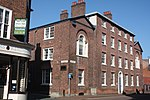 Macclesfield Arms, Jordangate, Macclesfield. Former hotel, now offices..JPG