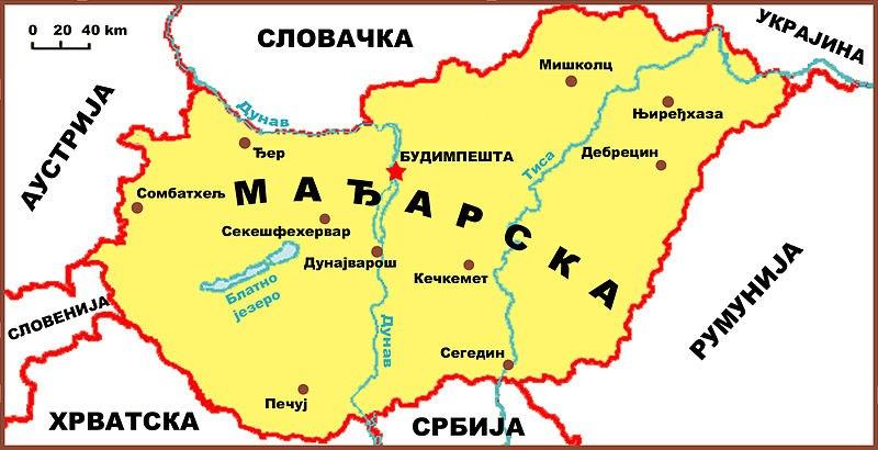Madjarska mapa