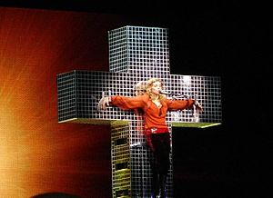 """The Confessions Tour (album) - The performance of """"Live to Tell"""" on the Confessions Tour was met with strong reaction from religious groups who deemed it anti-Christian."""