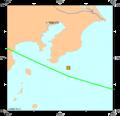 Magnitude 5.3 NEAR EAST COAST OF HONSHU, JAPAN Friday, October 13, 2006 at 21-37-58 UTC.png