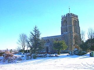 Maids Moreton village in the United Kingdom