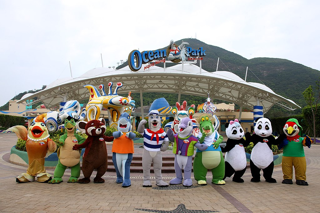 Ocean Park Entrance | Anniewongw/CC BY-SA 3.0/Wikimedia Commons