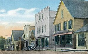 Rangeley, Maine - Image: Main Street, Rangeley, ME