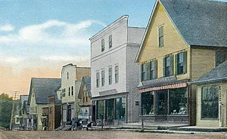 Rangeley, Maine - Image: Main Street, Rangeley, ME