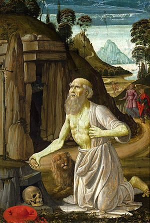 Bastiano Mainardi - The penitent St. Jerome, National Museum, Warsaw.