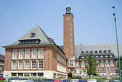 Woluwe Saint-Pierre's town hall
