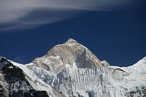 Makalu - Makalu from the southwest