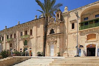 Valletta Waterfront - Flight into Egypt Church