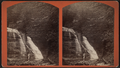 Man viewing waterfall, by D. L. Avery.png