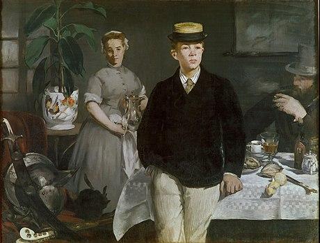 Manet - Luncheon in the Studio 1868.jpg
