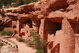 Manitou Cliff Dwellings - Image: Manitou Cliff Dwelling 2