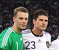 Manuel Neuer and Mario Gómez - 2011.JPG