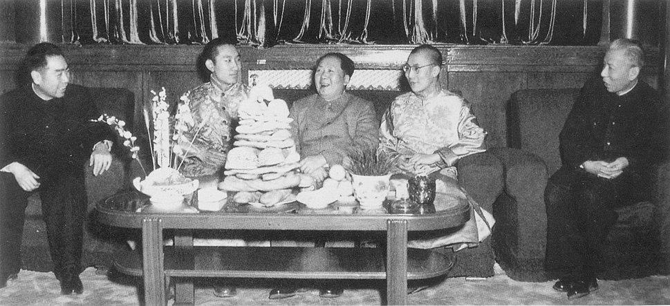 Mao dalai lama-1955
