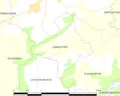 Map commune FR insee code 29116.png