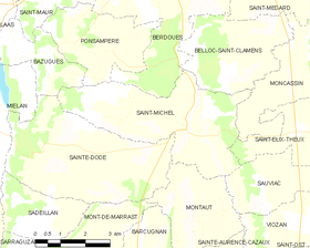 Map commune FR insee code 32397.png